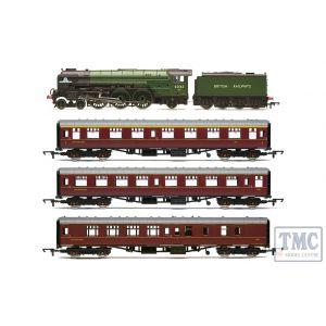 R3828 Hornby OO Gauge British Railways 60163 Tornado 'The Aberdonian' Train Pack - Era 11
