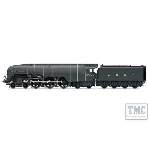 R3841 Hornby OO Gauge LNER Class W1 'Hush Hush' 4-6-4 10000 'British Enterprise' - Era 3