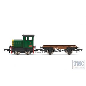 R3852 Hornby OO Gauge DVLR Ruston & Hornsby 48DS 0-4-0 417892 'Jim' - Era 8