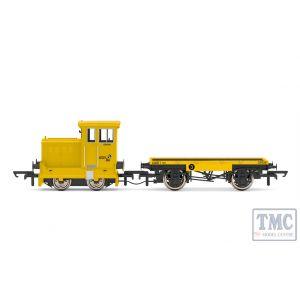 R3853 Hornby OO Gauge GrantRail Ltd Ruston & Hornsby 48DS 0-4-0 GR5090 - Era 9