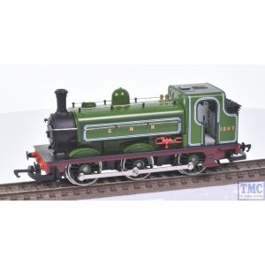 R396 Hornby OO Gauge GNR Class J13 0-6-0ST Saddle Tank Loco no.1247 (Mint)(Pre-owned)