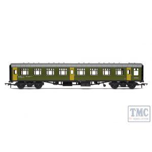 R40006 Hornby OO Gauge BR Departmental ex-Mk1 SK Ballast Cleaner Train Staff Coach DB 975805 - Era 7