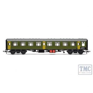 R40007 Hornby OO Gauge BR Departmental ex-Mk1 SK Ballast Cleaner Train Staff Coach DB 975802 - Era 7