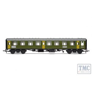 R40008 Hornby OO Gauge BR Departmental ex-Mk1 SK Ballast Cleaner Train Staff Coach DB 975804 - Era 7