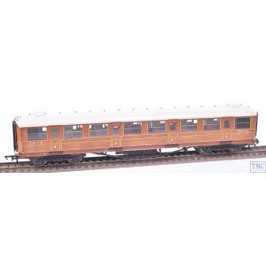 R4171 Hornby OO Gauge Gresley 61ft 6in Corridor 1st Class Coach 22356 LNER Teak (Pre-owned)