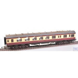 R4188D Hornby OO Gauge BR Period II 68ft Dining/Restaurant Car M236M (Era 4) Weathered by TMC