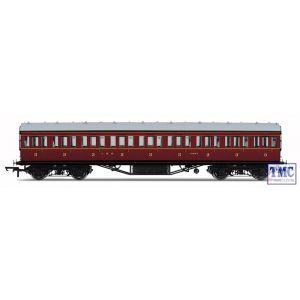 R4657 Hornby OO Gauge LMS 57ft Non-Corridor 3rd Class Coach 11693