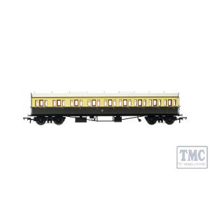 R4874A Hornby OO Gauge GWR, Collett 57' Bow Ended E131 Nine Compartment Composite (Left Hand), 6626 - Era 3