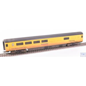 R4910 Hornby OO Gauge Network Rail Mk3 New Measurement Train Conference Coach 975814 Weathered by TMC