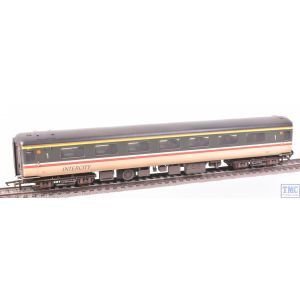 R4920 Hornby OO Gauge BR Intercity Mk2F First Open Coach 3387 (Era 8) VALUE Weathered by TMC
