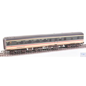 R4921A Hornby OO Gauge BR Intercity Mk2F Brake Second Open Coach 9525 (Era 8) VALUE Weathered by TMC