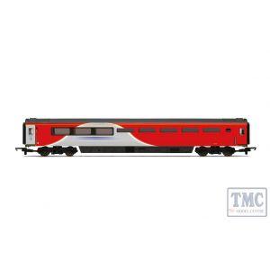 R4932A Hornby OO Gauge LNER Mk3 Trailer Buffet Coach J 40750 - Era 11