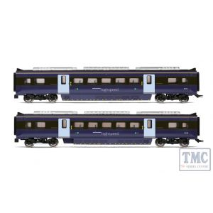 R4999 Hornby OO Gauge South Eastern Class 395 Highspeed Train 2-car Coach Pack MSO 39134 and MSO 39135 - Era 11