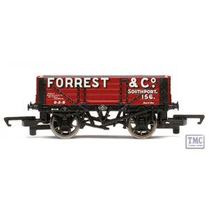 R6593 Hornby HO/OO Gauge Forrest & Co. 4 Plank Wagon