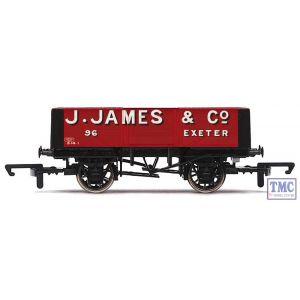 R6700 Hornby OO Gauge J. James & Co 5 Plank Wagon