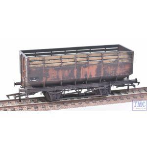 R6733A Hornby OO Gauge 20T Coke Hopper British Railways (Era 4/5) Deluxe Weathering by TMC