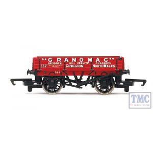 R6805 Hornby OO Gauge 3 Plank Wagon 'Granomac'