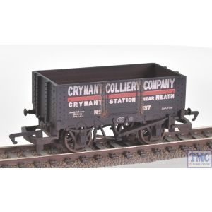 R6816 Hornby OO Gauge 6 Plank Wagon 'Crynant Colliery Company'