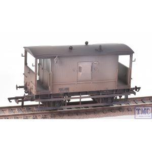 R6834A Hornby OO Gauge BR Dia.064 'Toad E' 20T Brake Van - Era 4
