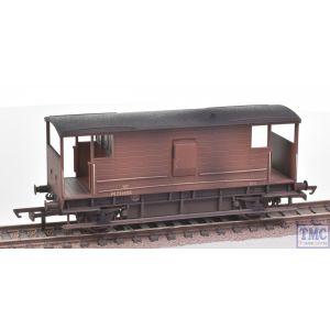 R6909 Hornby OO Gauge BR D2068 20T Brake Van M731456 - Era 4