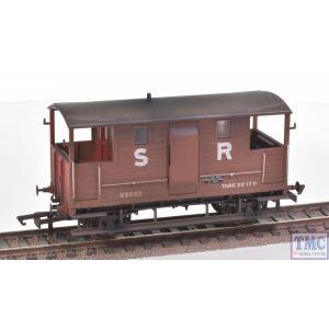 R6913 Hornby OO Gauge SR 24T Diag. 1543 Goods Brake Van 55062 - Era 3