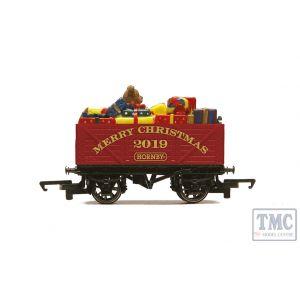 R6932 Hornby OO Gauge Hornby Christmas Plank Wagon