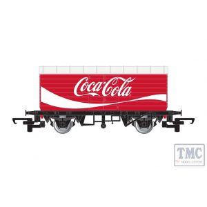 R6934 Hornby OO Gauge LWB Box Van Coca-Cola