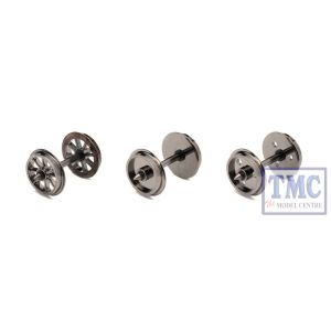 R8096 Hornby OO Gauge Disc Wheels/Axles (10 Sets)