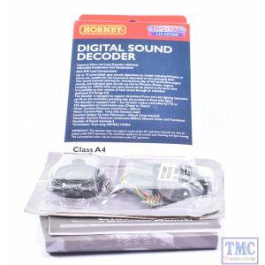 R8107 Hornby OO Gauge TTS Sound Decoder: Class A4 (Pre-owned)