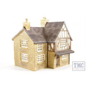 R8506 Hornby Skaledale OO/HO Gauge Brambles Cottage (Pre-owned)