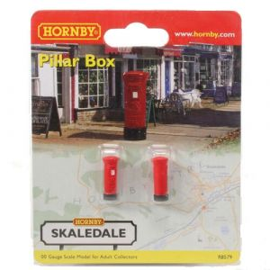 R8579 OO Scale Pillar Box (Pre Owned)