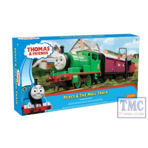 R9284 Hornby OO Gauge Thomas & Friends Percy and the Mail Train Set
