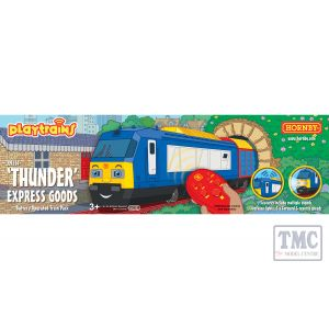 R9314 Hornby Playtrains Thunder Express Goods Battery Operated Train Pack