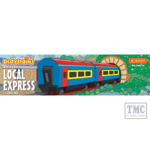 R9315 Hornby Playtrains Local Express 2 x Coach Pack