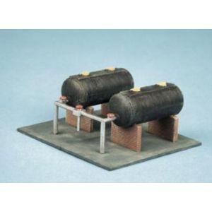 315 Ratio Oil Tanks N Gauge Plastic Kit