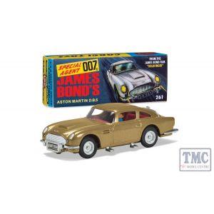 RT26101 Corgi 1:43 Scale James Bond - Aston Martin DB5 'Goldfinger' 60's version