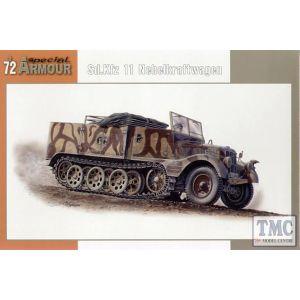 Special Armour 1:72 Sd.Kfz. 11/4 Nebelkraftwagen No SA72004 (Pre owned)