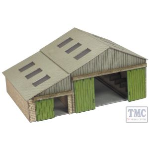 PN936 Metcalfe N Gauge Settle - Carlisle Goods Shed Card Kit