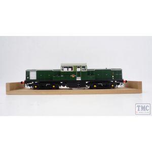 1750 Heljan O Gauge Class 17 BR green unnumbered SYP