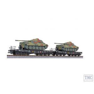 L230144 Liliput HO Scale 2-unit tank transport set