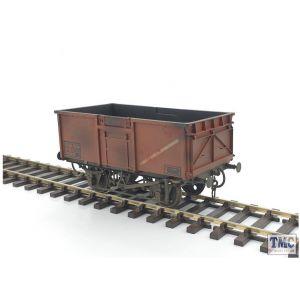 GM7410304 Gaugemaster O Gauge 16t Mineral Wagon BR Bauxite 68922 Weathered