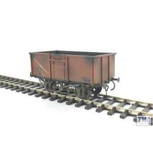 GM7410305 Gaugemaster O Gauge 16t Mineral Wagon BR Bauxite 561358 Weathered