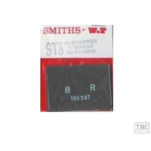 WTST8 Smiths OO Gauge (4mm Scale) BR 1948 to Present Tarpaulins