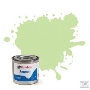 AA0036 Humbrol No 36 Pastel Green Matt Enamel Tinlet No 1 (14ml)