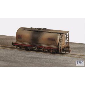 NR-P160 Peco N Gauge Petrol Tank Wagon Shell/BP