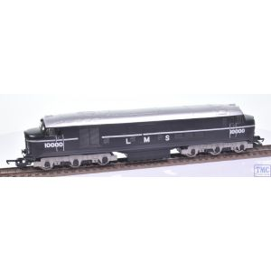 Silver Fox Models LMS no.10000 Diesel Black and Silver (Based on Lima Chassis)(Test Run Only)(Mint)(Pre-owned)