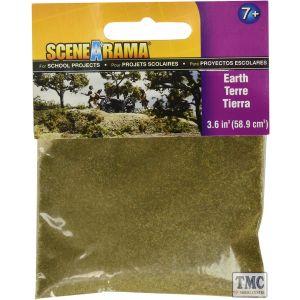SP4181 Woodland Scenics Scenic Bag of Earth (58.9 cm3)
