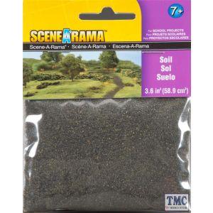 SP4182 Woodland Scenics Scenic Bag of Soil (58.9 cm3)