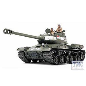 TA32571 Tamiya 1/48 Scale Military Russian Heavy Tank JS-2 Model 1