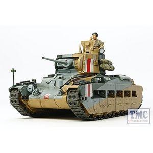 TA32572 Tamiya 1/48 Scale Military Matilda MKIII/IV British Infantry Tank